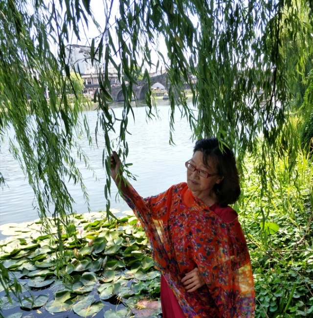 江枫漁火照片